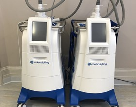 2 x coolsculpting machines (used) for sale